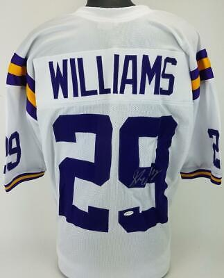 $ CDN46.66 • Buy Greedy Williams Signed LSU Tigers Custom Football White Jersey Total Sports COA