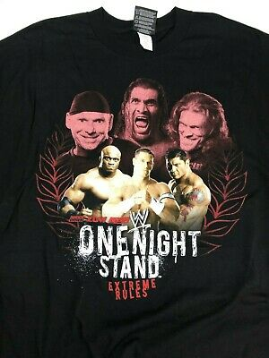 $26.95 • Buy WWE Wrestling One Night Stand Extreme Rules 2007 Black T-Shirt 3XL Batista