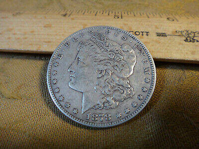 $10.50 • Buy 1878-S United States Morgan Silver Dollar Coin $1 - No Reserve - Free S&H USA
