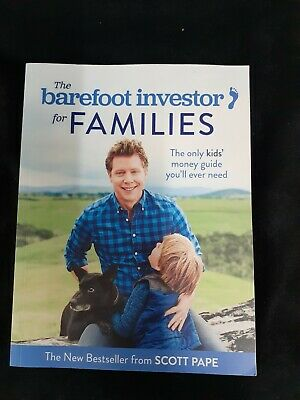 AU7.50 • Buy BAREFOOT INVESTOR FOR FAMILIES By Scott Pape  (preloved)