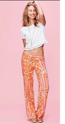 $7.99 • Buy Lilly Pulitzer For Target Palazzo Pants In Giraffeee Medium