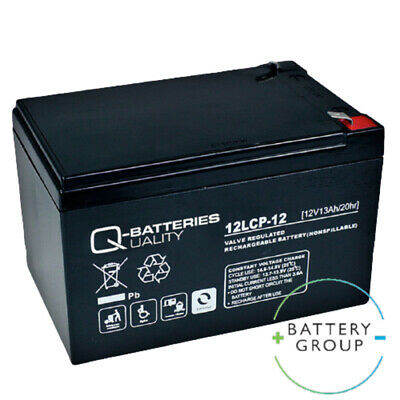 £26.99 • Buy Single Q-Batteries 12V 12ah/13ah Electric Wheelchair Mobility Scooter Battery