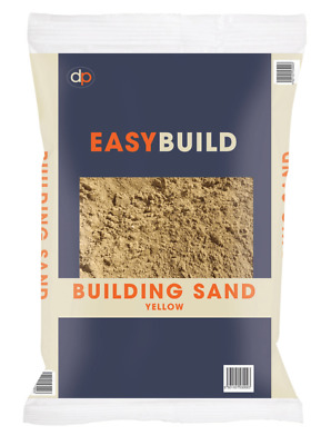 £17.09 • Buy Deco-Pac Easy Build Yellow Building Sand 25KG Trade Pack Building Landscape