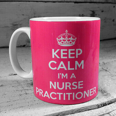 Keep Calm I'm A Nurse Practitioner Mug Gift Ideas Cup Carry On Nurses Mugs Gifts • 8.99£