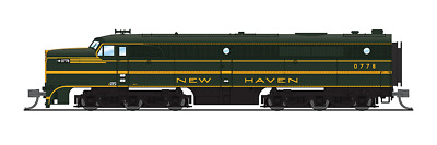 $199.48 • Buy Broadway Limited N Scale Alco PA New Haven #0778 Green & Gold Paragon3 Sd/DC/DCC