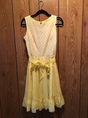 $15 • Buy Vintage Square Dance Rockabilly Dress By Square Dance Dress Co Size 14