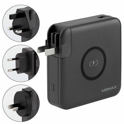 AU89 • Buy Momax Multi USB Wall Charger Travel Adapter 18W PD Fast Charging Wireless