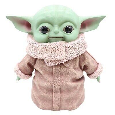 $18.99 • Buy Yoda Baby Doll Toy Star Wars PVC Action Figure Model Ornament Kids Gifts Sp1188