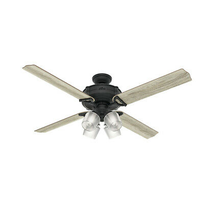 $299.99 • Buy Hunter 60 In. Natural Iron Ceiling Fan 54179 New