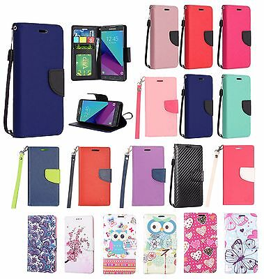 $ CDN14.57 • Buy Samsung Galaxy S8/8+ Pu Leather Wallet Pouch Case Folio Stand Cover+stylus