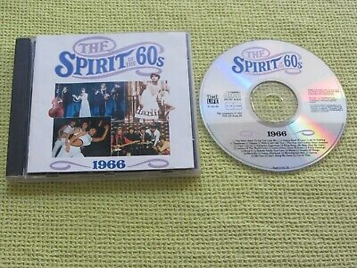 The Spirit Of The 60s 1966 CD Album Ft Dusty Springfield The Troggs Hollies  Yar • 4.99£