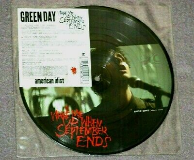 Green Day - Wake Me Up When September Ends - 7  Picture Disc • 23.50£