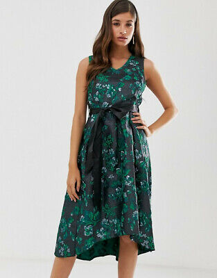 Pleated High Low Dress By Closet Green. Size 8. BNWT. RRP£98 • 54£