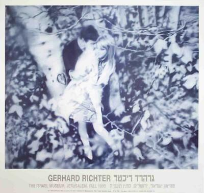 $118.99 • Buy Gerhard Richter Lovers In The Forest Offset Lithograph