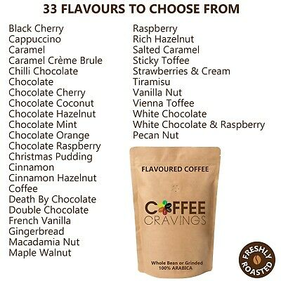 £9.99 • Buy 33 Flavours, Flavoured Roasted Coffee, 100% Arabica Freshly Roasted, Take Ur Pic