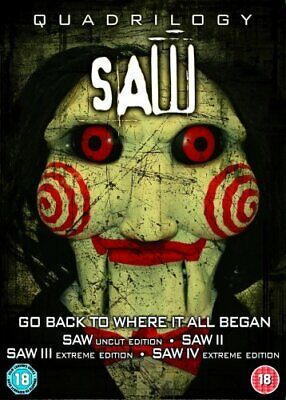 £3.49 • Buy Saw Quadrilogy - Limited Edition Jigsaw Special Packaging [2004] ... - DVD  N8VG