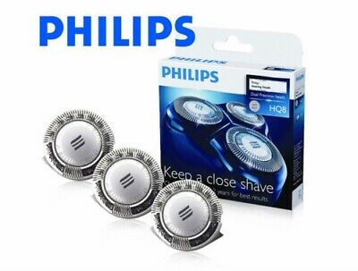 $ CDN102.42 • Buy 3 PHILIPS PHILISHAVE HQ8 Replacement Shaver Heads Blades NEW & GENUINE In UK