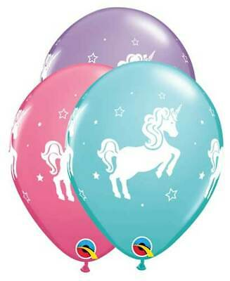 AU8.95 • Buy Unicorn Party Supplies Birthday Latex Balloons (Pack 10 / 30cm)