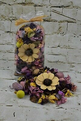 Lemon And Lavender Pot Pourri In A Bowl - Gift Wrapped  • 10£