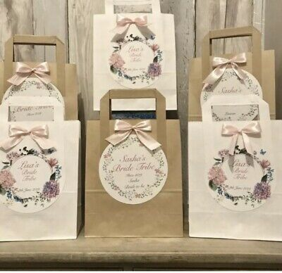 £1.20 • Buy Personalised Vintage Hen Party Favour Bags/Birthday/ Baby Shower/Eid /Wedding