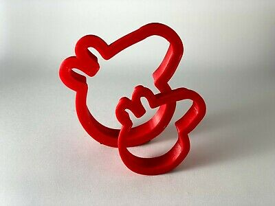 Pepper Pig Cookie Cutter Set, Play Dough, Fondant, Pastry, Biscuit, Cutter UK • 3.49£
