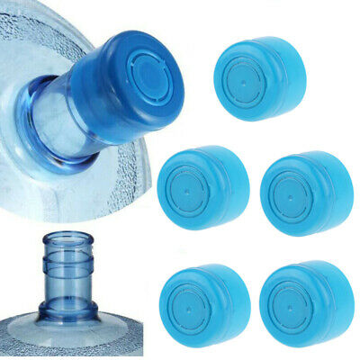 $ CDN2.96 • Buy 5Pcs Reusable Water Bottle Snap On Cap Replace Lid For 55mm 3-5 Gallon Water Jug