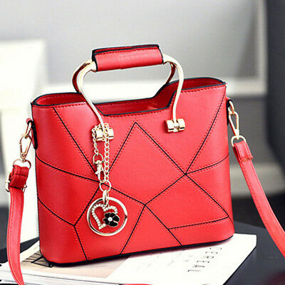$ CDN20.90 • Buy Women Handbags Faux Leather Tote Shoulder Bags Satchel Cross Body Messenger Bag