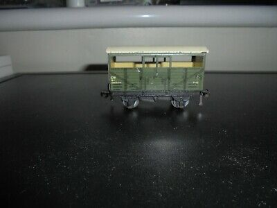 Hornby Dublo 3 Rail G.w.r. Cattle Truck Four Windows • 3.99£