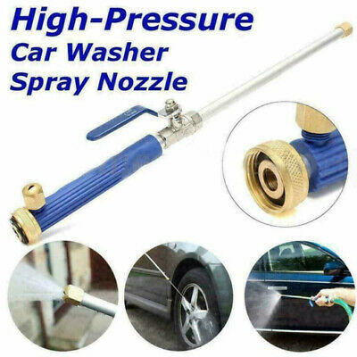 $ CDN18.44 • Buy 2-in-1 Brass High Pressure Power Washer With 2*Nozzle For Car Sidewalks Washing
