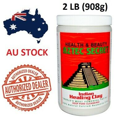 AU38.50 • Buy Aztec Secret Indian Healing Clay Facial Deep Pore Acne Cleansing Mask 454 & 908g