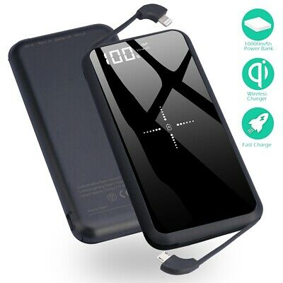 $ CDN62.99 • Buy 10W Fast Wireless Battery Portable Charger For IPad Samsung Galaxy Note 10 9 8+