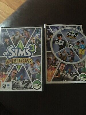 The Sims 3: Ambitions Expansion Pack For PC Or Mac With Internal Booklet Vgc • 7.75£