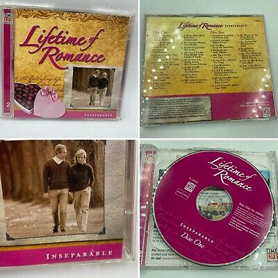 Lifetime Of Romance Double Cd Inseparable  Time Life Vgc • 10£