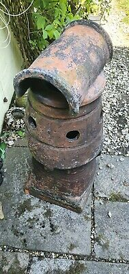 £125 • Buy Reclaimed Edwardian Antique Chimney Pot Stack For Garden Etc 33  Collect Only