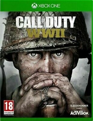 £14.49 • Buy Xbox One Call Of Duty WWII COD PRISTINE 1st Class SUPER FAST And FREE Delivery