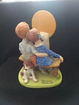 $ CDN22.36 • Buy Norman Rockwell Figurines Danbury Mint 1980 Young Love