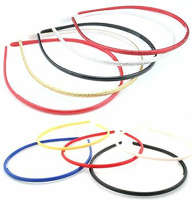 $ CDN6.89 • Buy Zest Set Of 5 5mm Wide Skinny Alice Bands Hair Accessories
