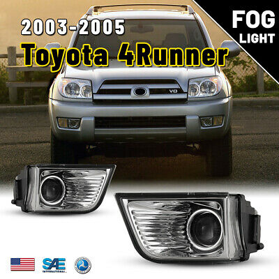 $36.12 • Buy For 03-05 Toyota 4Runner Fog Lights Projector Replacement Clear Lamps Bulbs Pair