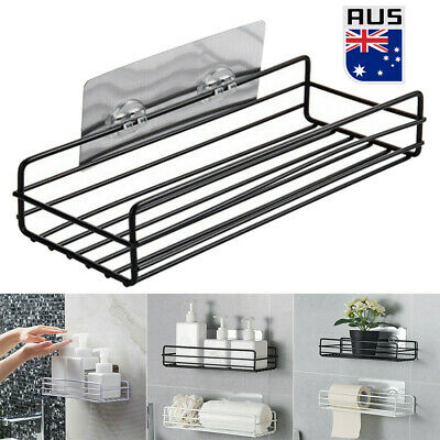 AU22.99 • Buy Kitchen Bathroom Shower Caddy Shelf Wall Mount Corner Organizer Storage Rack AU