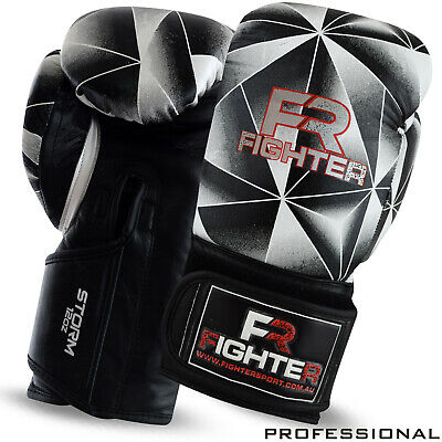 AU43.99 • Buy Boxing Gloves Thai Kick MMA Sparring Training Punch Mitts Gloves 10oz, To 16oz