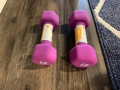 $ CDN33.55 • Buy CAP Hex Neoprene 5 Lb Pound Set Of Two Dumbbell Weights NEW IN HAND SHIPS NOW!!!