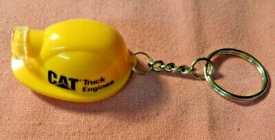 $39.60 • Buy Rare Vintage CAT TRUCK ENGINES HELMET Ad KEYCHAIN Key Chain Caterpillar Co.