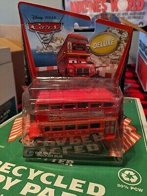 $ CDN38.26 • Buy Disney Pixar Cars 2 Diecast Mattel - Double Decker Bus Deluxe