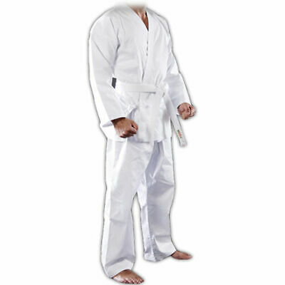 £15.50 • Buy New  Karate Suits Martial Arts GI Aikido Uniform White Poly Cotton  Kids & Adult