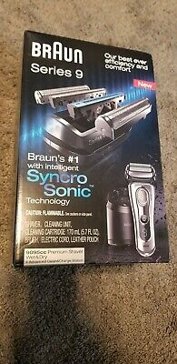 AU663.35 • Buy BRAND NEW Braun 9095cc Series 9 Men's Rechargeable Shaver With Precision Trimmer