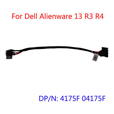 $ CDN18.78 • Buy For Dell Alienware 13 R3 R4 Power Head DC-IN Power Interface 4175F 04175F