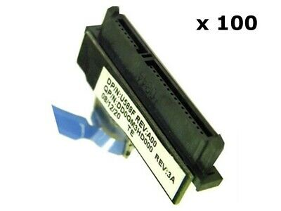 $ CDN300.30 • Buy Lot Of 100 Dell Studio 1735 1737 Laptop Sata Hdd Adapter Connector Cable U589f