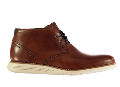 ROCKPORT Mens Chukka Boots Brown Size UK 7 US 7.5 *REFMRS31 • 47.99£