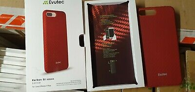 Case Evutec Karbon SI For Apple IPhone 6 6s - RED Brigandine • 4£