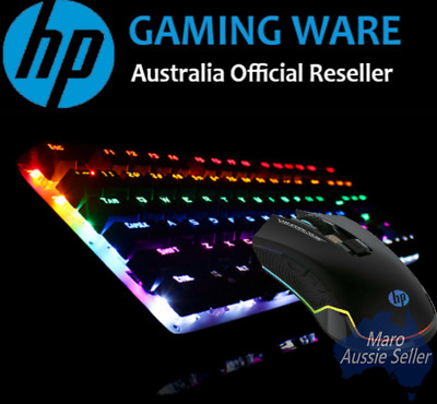 AU95.99 • Buy Hp Gaming Keyboard And Mouse Combo, Colorful Backlit